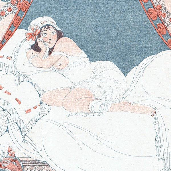 ゲアダ・ヴィーイナ(Gerda Wegener)フランスの雑誌挿絵 〜LA VIE PARISIENNE〜より 0432