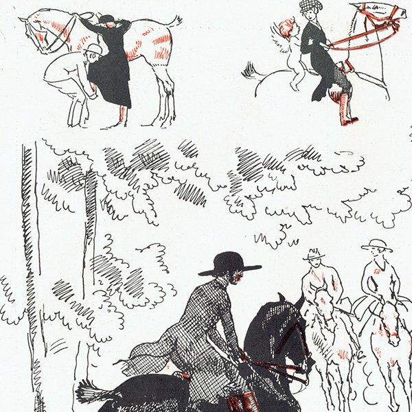 フランスの雑誌挿絵 〜LA VIE PARISIENNE〜より (Pierre Lissac) 0435