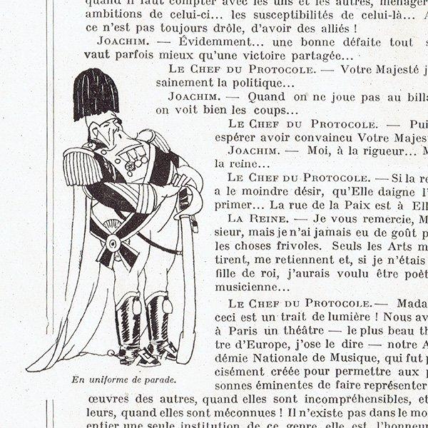 フランスの雑誌挿絵 〜LA VIE PARISIENNE〜より(シェリ・エルアール/Chéri Hérouard)0437