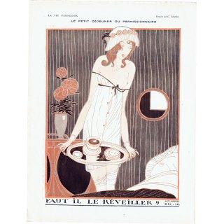 フランスの雑誌挿絵 〜LA VIE PARISIENNE〜より(シャルル・マルタン/Charles Martin)0438