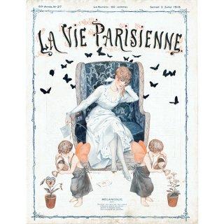 フランスの雑誌表紙 〜LA VIE PARISIENNE〜より(シェリ・エルアール/Chéri Hérouard)0440<img class='new_mark_img2' src='https://img.shop-pro.jp/img/new/icons5.gif' style='border:none;display:inline;margin:0px;padding:0px;width:auto;' />