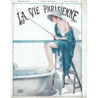 フランスの雑誌表紙 〜LA VIE PARISIENNE〜より(ジョルジュ・レオネック/Georges Léonnec)0443<img class='new_mark_img2' src='https://img.shop-pro.jp/img/new/icons5.gif' style='border:none;display:inline;margin:0px;padding:0px;width:auto;' />