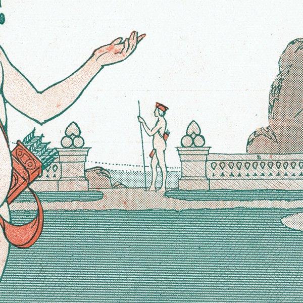 フランスの雑誌挿絵 〜LA VIE PARISIENNE〜より(Léo Fontan/レオ・フォンタン)0446