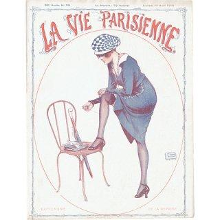 フランスの雑誌表紙 〜LA VIE PARISIENNE〜より(ジョルジュ・レオネック/Georges Léonnec)0447<img class='new_mark_img2' src='https://img.shop-pro.jp/img/new/icons5.gif' style='border:none;display:inline;margin:0px;padding:0px;width:auto;' />