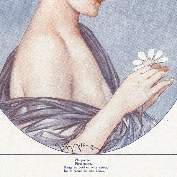 フランスの雑誌挿絵 〜LA VIE PARISIENNE〜より(モーリス・ミリエール/Maurice Milliere)0456