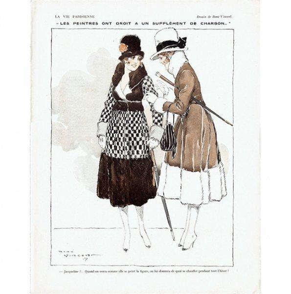 フランスの雑誌挿絵 〜LA VIE PARISIENNE〜より(ルネ・ヴィンセント/René Vincent)0457