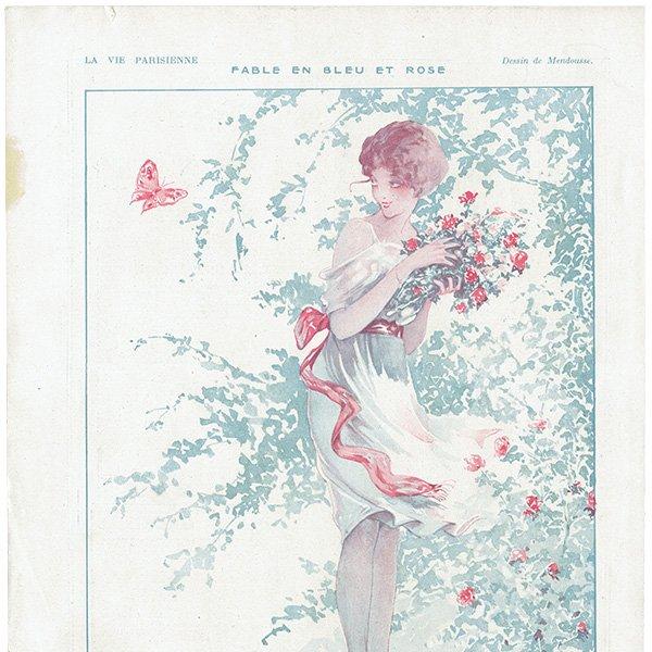フランスの雑誌挿絵 〜LA VIE PARISIENNE〜より(Mendousse)0458