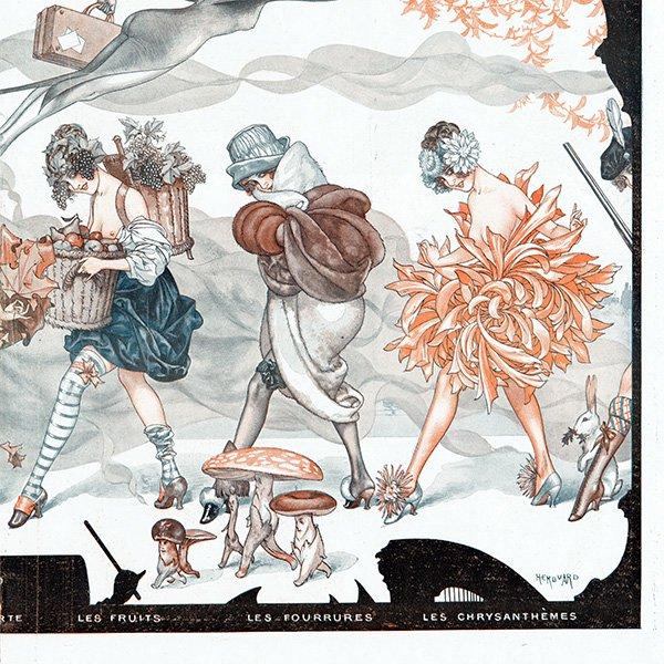 フランスの雑誌挿絵 〜LA VIE PARISIENNE〜より(シェリ・エルアール/Chéri Hérouard)0459