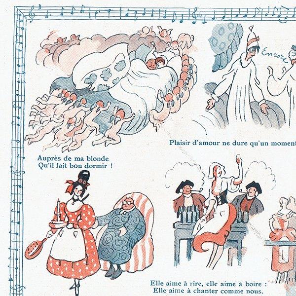フランスの雑誌挿絵 〜LA VIE PARISIENNE〜より(Henry Avelot)0460