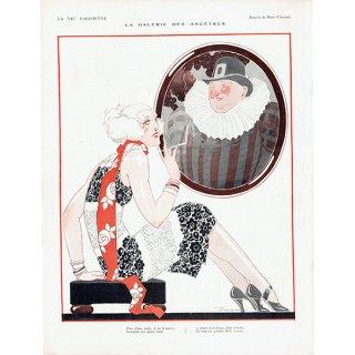 フランスの雑誌挿絵 〜LA VIE PARISIENNE〜より(ルネ・ヴィンセント/René Vincent)0461