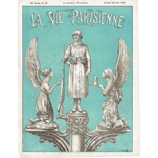 フランスの雑誌表紙 〜LA VIE PARISIENNE〜より(シェリ・エルアール/Chéri Hérouard)0463