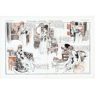 フランスの雑誌挿絵 〜LA VIE PARISIENNE〜より(ルネ・ヴィンセント/René Vincent)0466