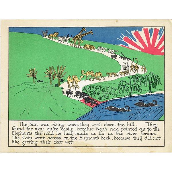 ノアの方舟 Noah's Ark(1930年代絵本より)0007