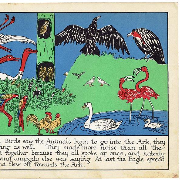 ノアの方舟 Noah's Ark(1930年代絵本より)0008