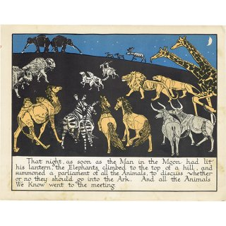 ノアの方舟 Noah's Ark(1930年代絵本より)0009