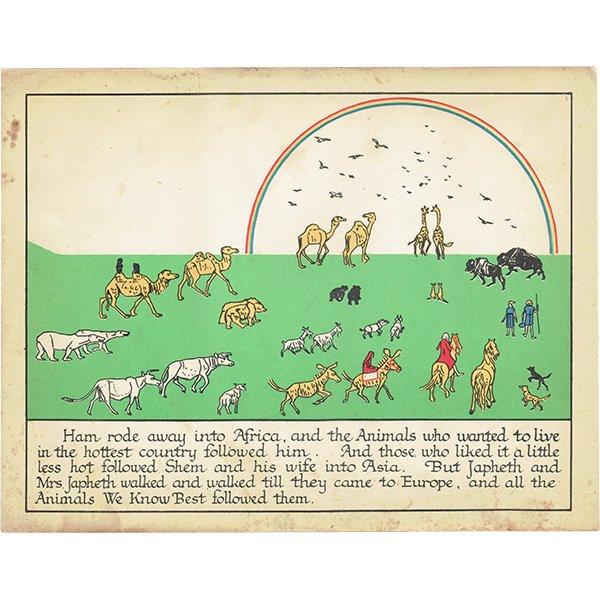 ノアの方舟 Noah's Ark(1930年代絵本より)0010