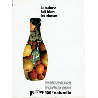 Perrier(ペリエ) フランスのヴィンテージ広告 1972年 0210