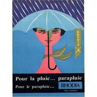 RHODIA フレンチヴィンテージ広告 1953年 0214