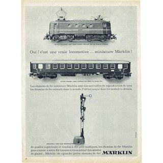 メルクリン社(Märklin)フレンチヴィンテージ雑誌広告 1962年 0212<img class='new_mark_img2' src='https://img.shop-pro.jp/img/new/icons5.gif' style='border:none;display:inline;margin:0px;padding:0px;width:auto;' />