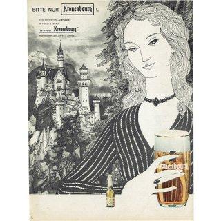 Kronenbourg(クローネンブルグ) フレンチヴィンテージ広告 1963年 0217