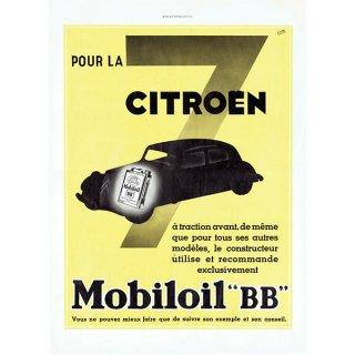 1935年 シトロエン(Citroën/Mobiloil)フレンチヴィンテージ雑誌広告 0087<img class='new_mark_img2' src='https://img.shop-pro.jp/img/new/icons5.gif' style='border:none;display:inline;margin:0px;padding:0px;width:auto;' />