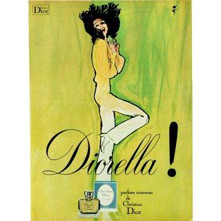 Christian Dior(クリスチャン・ディオール) イギリスヴィンテージ広告 1970年代 0220