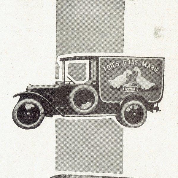 CRICKET(クリケット)/ UNIC(ユニック) フレンチヴィンテージ広告 1927年 0221