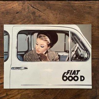 1965年 FIAT600Dブローシャー 0089