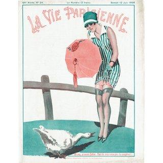 フランスの雑誌表紙 〜LA VIE PARISIENNE〜より(ジョルジュ・レオネック/Georges Léonnec)0469