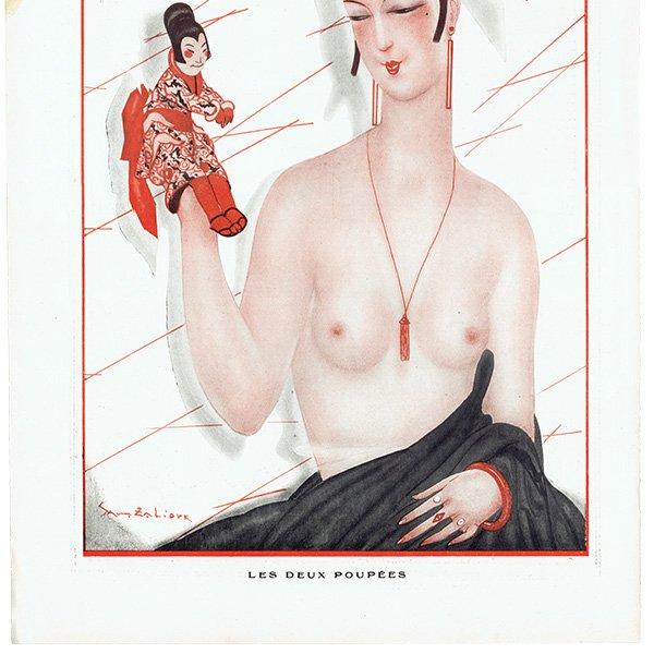 フランスの雑誌挿絵 〜LA VIE PARISIENNE〜より(Sacha Zaliouk)0472