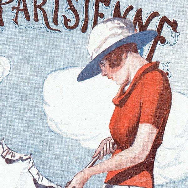 フランスの雑誌表紙 〜LA VIE PARISIENNE〜より(ジョルジュ・レオネック/Georges Léonnec)0473