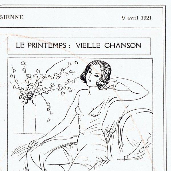 フランスの雑誌挿絵 〜LA VIE PARISIENNE〜より(シェリ・エルアール/シェリ・エルアール/Chéri Hérouard)0477