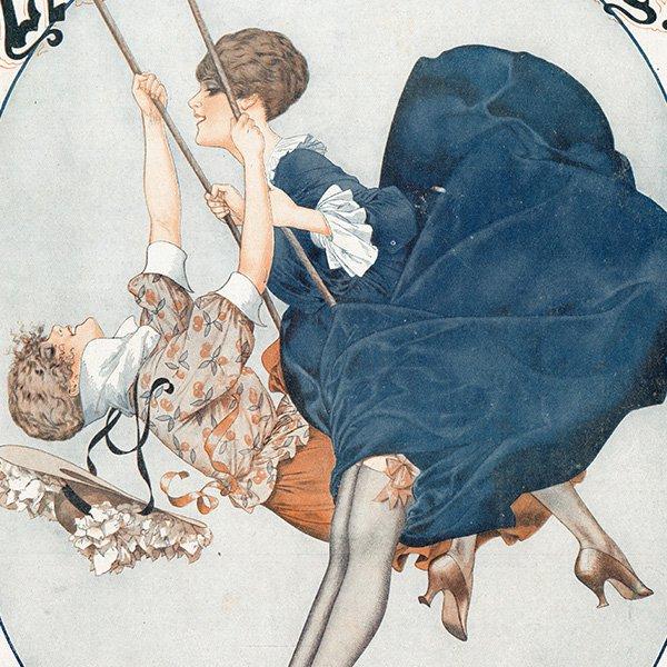 フランスの雑誌表紙 〜LA VIE PARISIENNE〜より(シェリ・エルアール/シェリ・エルアール/Chéri Hérouard)0480