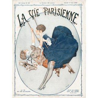 フランスの雑誌表紙 〜LA VIE PARISIENNE〜より(シェリ・エルアール/シェリ・エルアール/Chéri Hérouard)0480<img class='new_mark_img2' src='https://img.shop-pro.jp/img/new/icons5.gif' style='border:none;display:inline;margin:0px;padding:0px;width:auto;' />