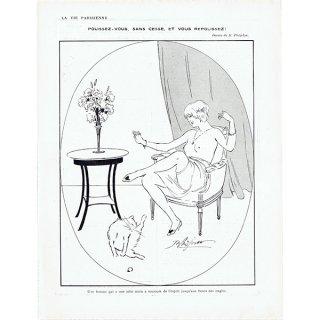 フランスの雑誌挿絵 〜LA VIE PARISIENNE〜より (René Préjelan)0481