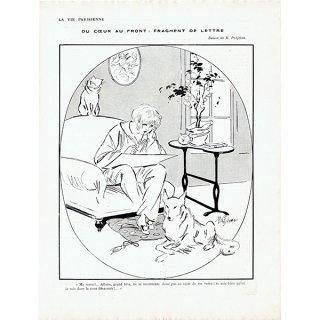 フランスの雑誌挿絵 〜LA VIE PARISIENNE〜より (René Préjelan)0485