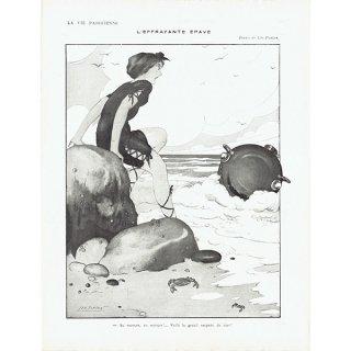 フランスの雑誌挿絵 〜LA VIE PARISIENNE〜より(Léo Fontan/レオ・フォンタン)0488