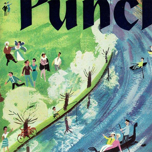 イギリスの風刺雑誌PUNCH(パンチ)1960年4月20日号 0243