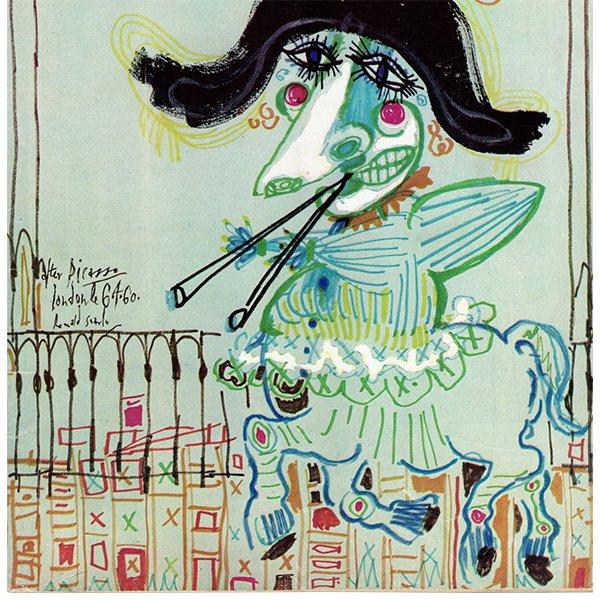 イギリスの風刺雑誌PUNCH(パンチ/ロナルド・サール)1960年6月29日号 0245