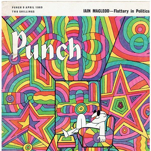 イギリスの風刺雑誌PUNCH(パンチ)1969年4月9日号 0246
