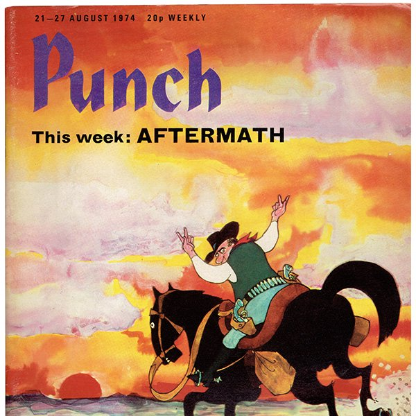 イギリスの風刺雑誌PUNCH(パンチ)1974年8月21-27日号 0248
