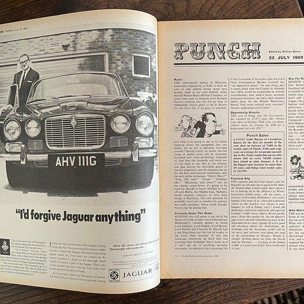 イギリスの風刺雑誌PUNCH(パンチ)1969年7月23日号 0249