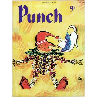イギリスの風刺雑誌PUNCH(パンチ/クェンティン・ブレイク)1960年7月20日号 0250