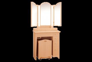 プリティカ/三面鏡収納