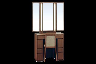 ロッシェル75/三面鏡収納