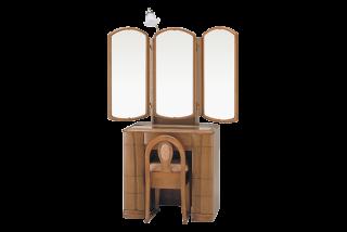 オリーブ/三面鏡収納