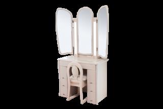 キュアベルプレミアム/三面鏡収納 両袖