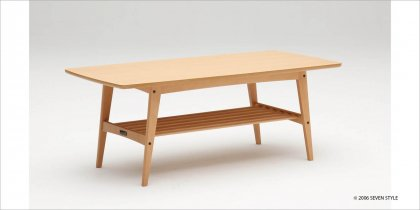 【送料無料】カリモク60 リビングテーブル(大)ピュアビーチ色