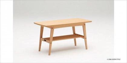 【送料無料】カリモク60 リビングテーブル(小)ピュアビーチ色