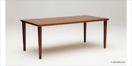 【送料無料】カリモク60+ ダイニングテーブル1800(ウォールナット色)